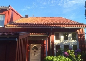 Takrenovering i Orminge Saltsjö-boo
