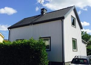 Takläggning & Fasadmålning i Enskede, Stockholm klar!