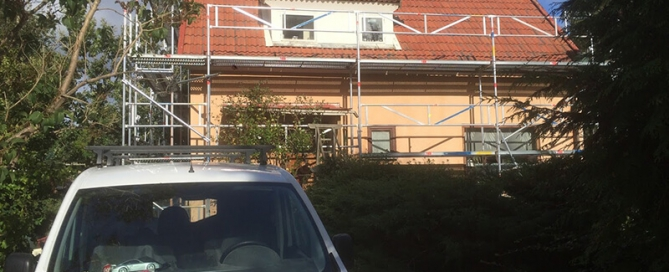 Takrenovering & Fasadrenovering i Södertälje